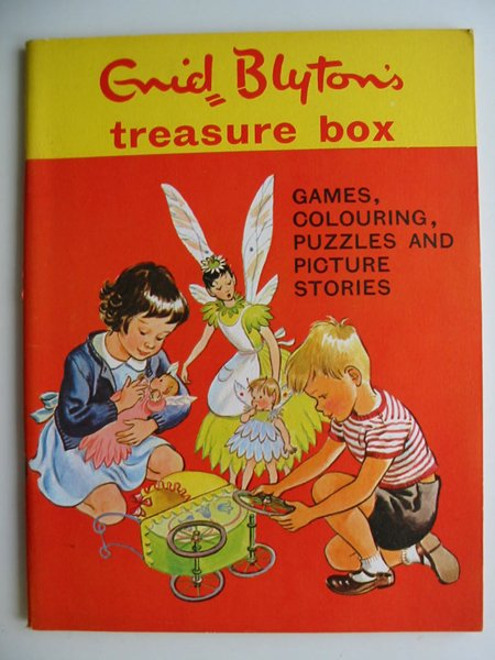 Photo of ENID BLYTON'S TREASURE BOX written by Blyton, Enid illustrated by Boswell, Hilda et al.,  published by Sampson Low, Marston & Co. Ltd., Dennis Dobson (STOCK CODE: 595034)  for sale by Stella & Rose's Books