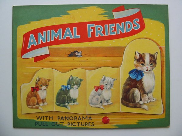 Photo of ANIMAL FRIENDS WITH PANORAMA PULL-OUT PICTURES illustrated by Eshuis, Dick published by B.B. Ltd. (STOCK CODE: 595040)  for sale by Stella & Rose's Books