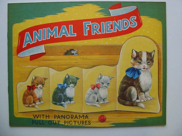 Photo of ANIMAL FRIENDS WITH PANORAMA PULL-OUT PICTURES- Stock Number: 595064