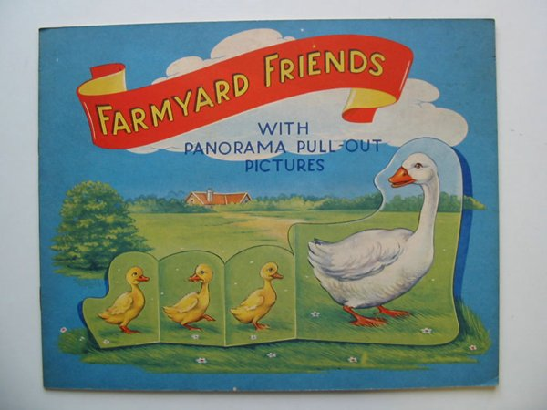 Photo of FARMYARD FRIENDS WITH PANORAMA PULL-OUT PICTURES illustrated by Eshuis, Dick published by B.B. Ltd. (STOCK CODE: 595067)  for sale by Stella & Rose's Books