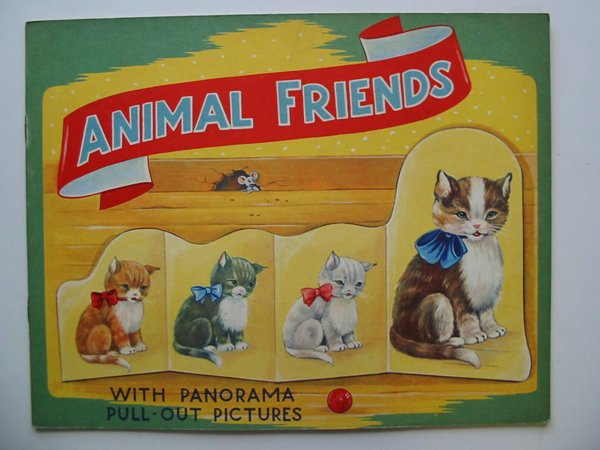 Photo of ANIMAL FRIENDS WITH PANORAMA PULL-OUT PICTURES- Stock Number: 595071