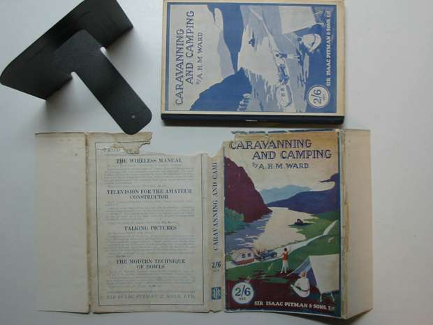 Photo of CARAVANNING AND CAMPING written by Ward, A.H.M. published by Sir Isaac Pitman & Sons Ltd. (STOCK CODE: 595515)  for sale by Stella & Rose's Books