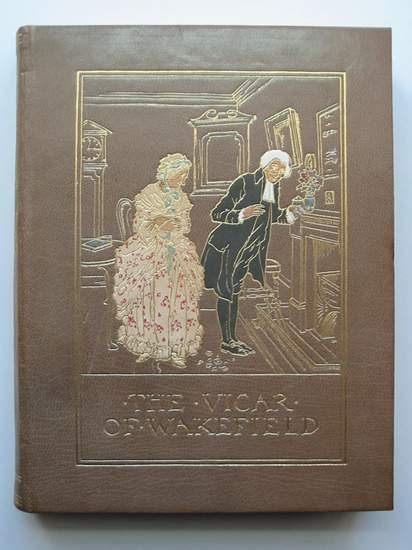 Photo of THE VICAR OF WAKEFIELD written by Goldsmith, Oliver illustrated by Rackham, Arthur published by George G. Harrap & Company Ltd. (STOCK CODE: 595605)  for sale by Stella & Rose's Books