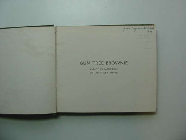 Photo of GUM TREE BROWNIE AND OTHER FAERIE FOLK OF THE NEVER-NEVER written by Quin, Tarella A. illustrated by Outhwaite, Ida Rentoul published by George Robertson & Co. (STOCK CODE: 595653)  for sale by Stella & Rose's Books