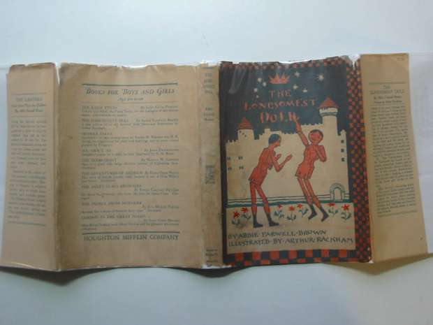 Photo of THE LONESOMEST DOLL written by Brown, Abbie Farwell illustrated by Rackham, Arthur published by Houghton Mifflin Company (STOCK CODE: 596084)  for sale by Stella & Rose's Books