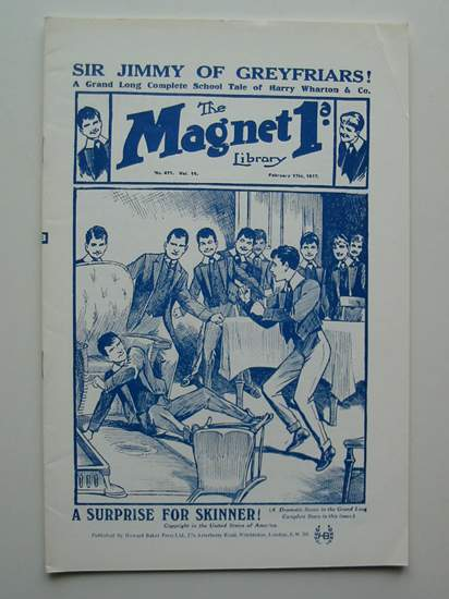 Photo of THE MAGNET LIBRARY NO. 471, VOL. 11 written by Richards, Frank published by Howard Baker Press (STOCK CODE: 596593)  for sale by Stella & Rose's Books