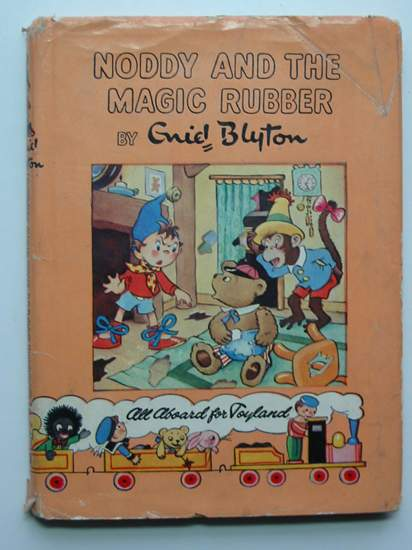 Photo of NODDY AND THE MAGIC RUBBER written by Blyton, Enid illustrated by Wienk, Peter<br />Tyndall, Robert published by Sampson Low, Marston &amp; Co. Ltd., Dennis Dobson Ltd. (STOCK CODE: 596670)  for sale by Stella & Rose's Books