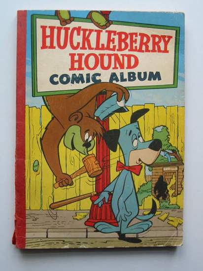 Photo of HUCKLEBERRY HOUND COMIC ALBUM NO. 1 illustrated by Hanna, Bill Barbera, Joe published by World Distributors Ltd. (STOCK CODE: 597097)  for sale by Stella & Rose's Books