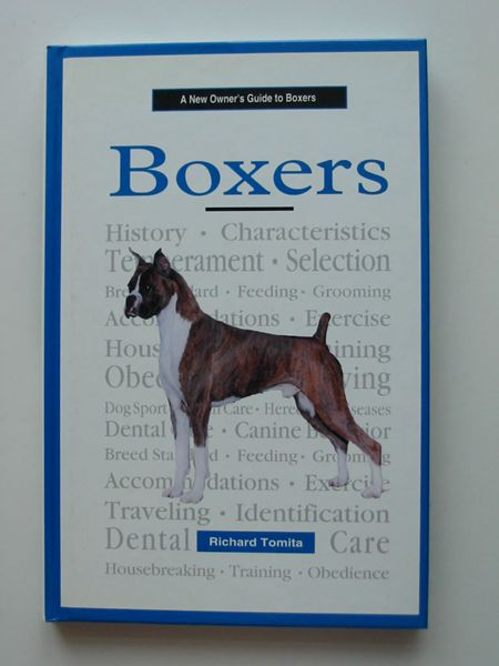 Photo of A NEW OWNER'S GUIDE TO BOXERS- Stock Number: 597226