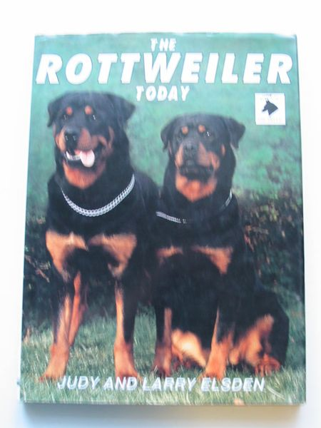 Photo of THE ROTTWEILER TODAY written by Elsden, Judy Elsden, Larry published by Ringpress Books (STOCK CODE: 597339)  for sale by Stella & Rose's Books