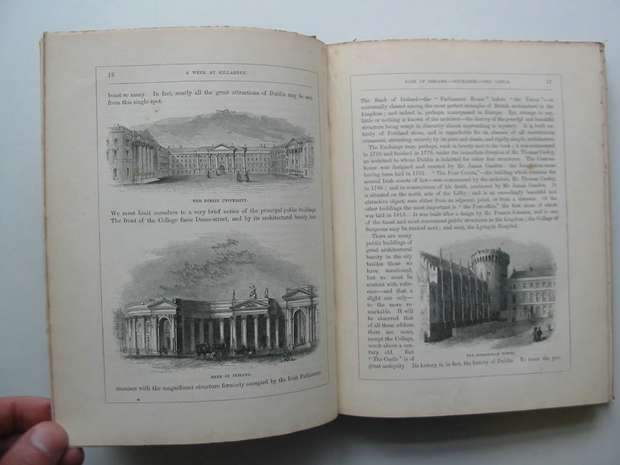 Photo of A WEEK AT KILLARNEY written by Hall, Mr. S.C. Hall, Mrs. S.C. illustrated by Creswick, T. Bartlett, A.R. Bartlett, W.H. published by Virtue And Co. (STOCK CODE: 597774)  for sale by Stella & Rose's Books