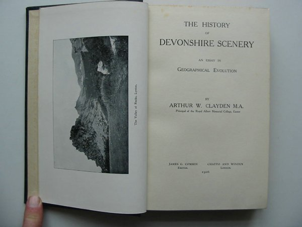 Photo of THE HISTORY OF DEVONSHIRE SCENERY- Stock Number: 597932