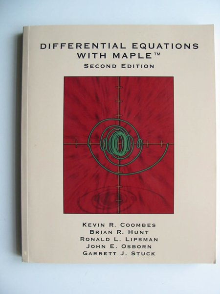 Photo of DIFFERENTIAL EQUATIONS WITH MAPLE written by Coombes, Kevin R. et al,  published by John Wiley & Sons (STOCK CODE: 597985)  for sale by Stella & Rose's Books