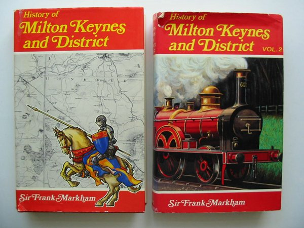Photo of A HISTORY OF MILTON KEYNES AND DISTRICT (2 VOLUMES) written by Markham, Frank published by White Crescent Press (STOCK CODE: 598026)  for sale by Stella & Rose's Books