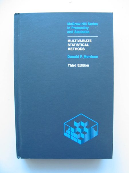 Photo of MULTIVARIATE STATISTICAL METHODS written by Morrison, Donald F. published by McGraw-Hill (STOCK CODE: 598138)  for sale by Stella & Rose's Books