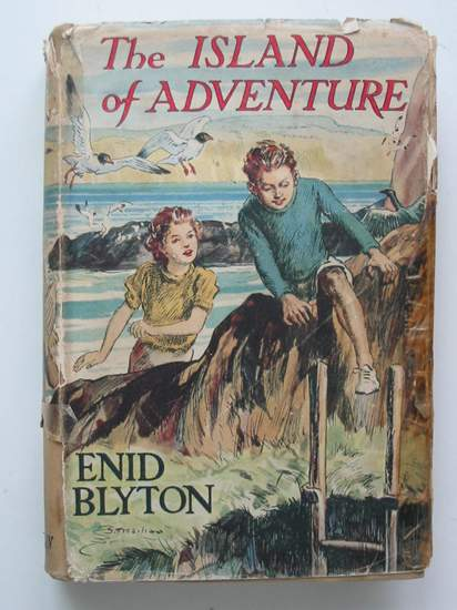 Photo of THE ISLAND OF ADVENTURE written by Blyton, Enid illustrated by Tresilian, Stuart published by Macmillan & Co. Ltd. (STOCK CODE: 598744)  for sale by Stella & Rose's Books