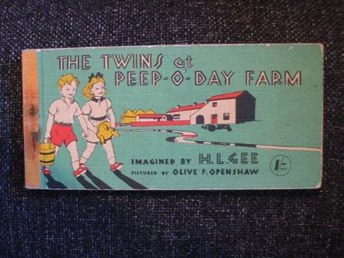 Photo of THE TWINS AT PEEP-O-DAY FARM- Stock Number: 604680