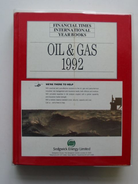 Photo of FINANCIAL TIMES OIL AND GAS INTERNATIONAL YEAR BOOK 1992- Stock Number: 613727