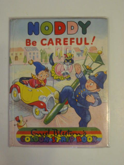 Photo of NODDY BE CAREFUL! written by Blyton, Enid illustrated by Beek,  published by Sampson Low, Marston & Co. Ltd., Dennis Dobson (STOCK CODE: 618991)  for sale by Stella & Rose's Books