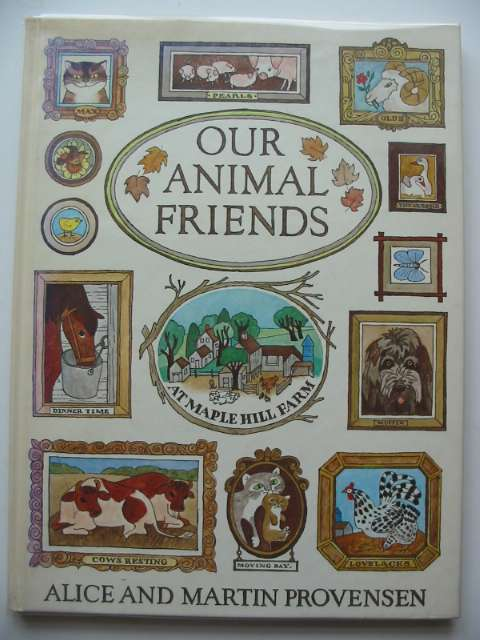 Photo of OUR ANIMAL FRIENDS written by Provensen, Alice Provensen, Martin illustrated by Provensen, Alice Provensen, Martin published by Walker Books (STOCK CODE: 619637)  for sale by Stella & Rose's Books