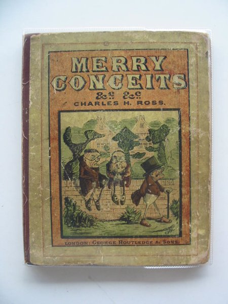 Photo of MERRY CONCEITS AND WHIMSICAL RHYMES written by Ross, Charles H. illustrated by Ross, Charles H. (STOCK CODE: 619929)  for sale by Stella & Rose's Books
