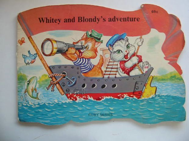 Photo of WHITEY AND BLONDY'S ADVENTURE- Stock Number: 620281