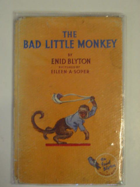 Photo of THE BAD LITTLE MONKEY written by Blyton, Enid illustrated by Soper, Eileen published by The Brockhampton Press Ltd. (STOCK CODE: 620293)  for sale by Stella & Rose's Books