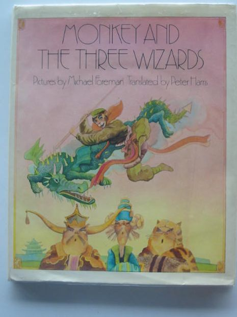 Photo of MONKEY AND THE THREE WIZARDS- Stock Number: 621096