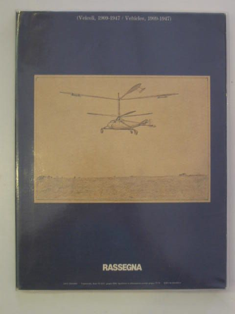 Photo of VEHICLES 1909-1947 published by Rassegna (STOCK CODE: 621601)  for sale by Stella & Rose's Books