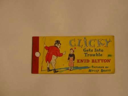 Photo of CLICKY GETS INTO TROUBLE written by Blyton, Enid illustrated by Brett, Molly published by Brockhampton Press Ltd. (STOCK CODE: 623323)  for sale by Stella & Rose's Books