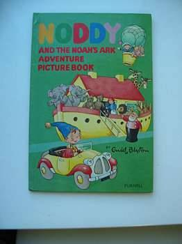 Photo of NODDY AND THE NOAH'S ARK ADVENTURE PICTURE BOOK written by Blyton, Enid published by Sampson Low, Marston & Co. Ltd., Dennis Dobson Ltd. (STOCK CODE: 624116)  for sale by Stella & Rose's Books