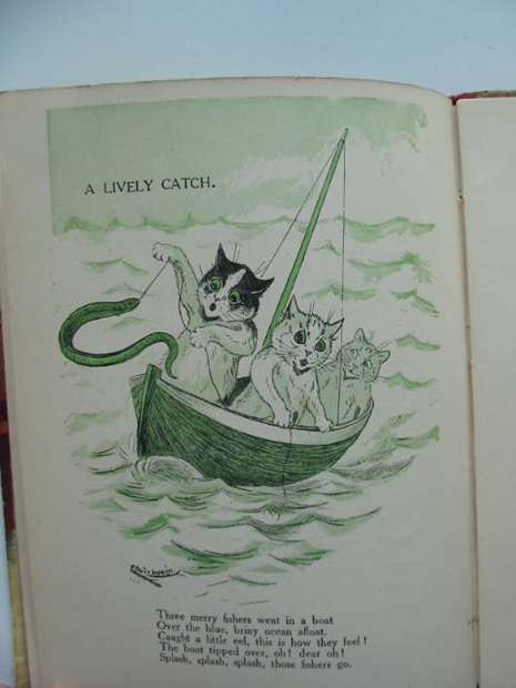 Photo of TO NURSERY LAND WITH LOUIS WAIN written by Bingham, Clifton et al,  illustrated by Wain, Louis published by Raphael Tuck & Sons Ltd. (STOCK CODE: 626882)  for sale by Stella & Rose's Books