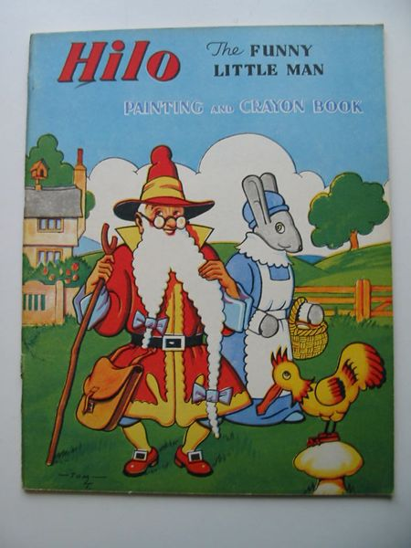 Photo of HILO THE FUNNY LITTLE MAN PAINTING AND CRAYON BOOK published by Juvenile Productions Ltd. (STOCK CODE: 627092)  for sale by Stella & Rose's Books