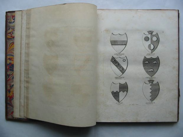 Photo of A COLLECTION OF COATS OF ARMS BORNE BY THE NOBILITY AND GENTRY OF THE COUNTY OF GLOCESTER published by J. Good (STOCK CODE: 628236)  for sale by Stella & Rose's Books