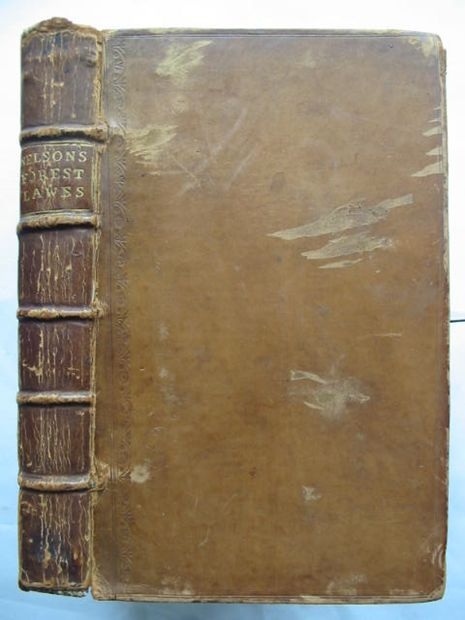 Photo of MANWOOD'S TREATISE OF THE FOREST LAWS- Stock Number: 628241