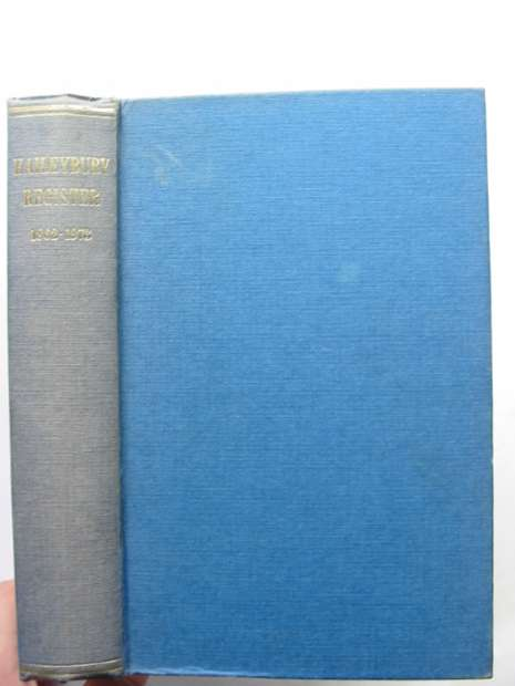 Photo of HAILEYBURY REGISTER 1862-1973 written by Hood, William F. published by Haileybury And Imperial Service College (STOCK CODE: 628533)  for sale by Stella & Rose's Books