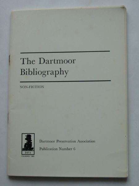 Photo of THE DARTMOOR BIBLIOGRAPHY written by Cocks, John V. Somers published by Dartmoor Preservation Association (STOCK CODE: 628602)  for sale by Stella & Rose's Books