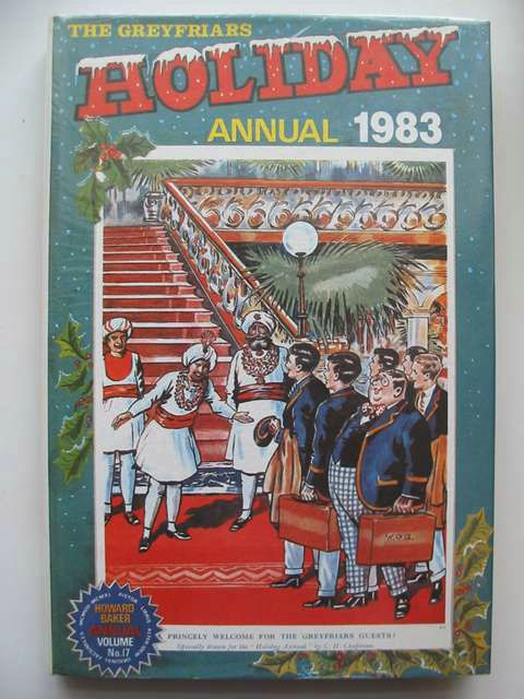 Photo of THE GREYFRIARS HOLIDAY ANNUAL 1983 written by Richards, Frank published by Howard Baker Press (STOCK CODE: 629203)  for sale by Stella & Rose's Books