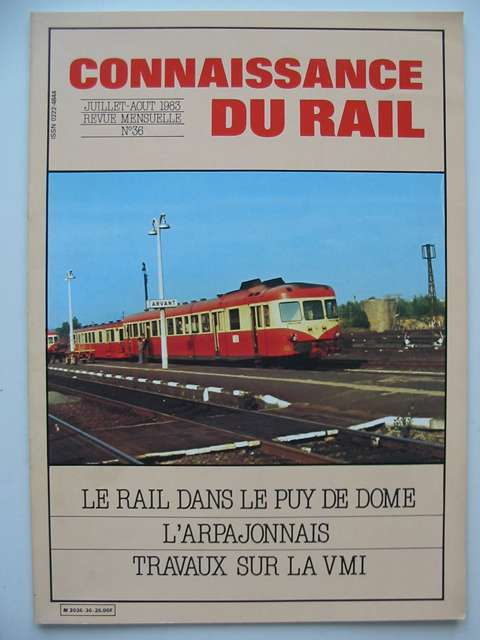 Photo of CONNAISSANCE DU RAIL No. 36 published by Connaissance Du Rail (STOCK CODE: 629289)  for sale by Stella & Rose's Books