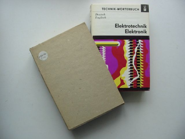 Photo of DICTIONARY OF ELECTRICAL ENGINEERING AND ELECTRONICS- Stock Number: 629949