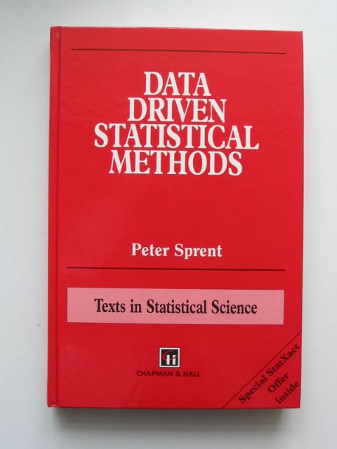 Photo of DATA DRIVEN STATISTICAL METHODS written by Sprent, P. published by Chapman & Hall (STOCK CODE: 629952)  for sale by Stella & Rose's Books