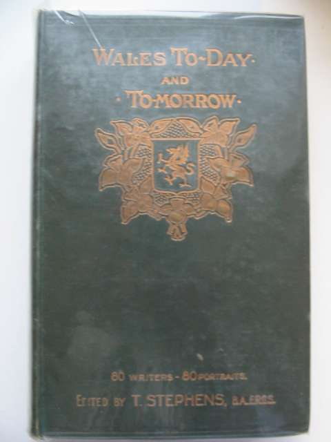 Photo of WALES: TO-DAY AND TO-MORROW written by Stephens, T. published by Western Mail (STOCK CODE: 630261)  for sale by Stella & Rose's Books