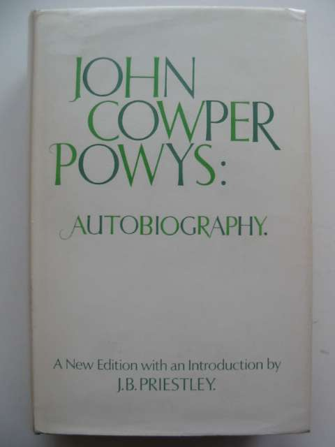 Photo of JOHN COWPER POWYS AUTOBIOGRAPHY written by Powys, John Cowper published by MacDonald (STOCK CODE: 630316)  for sale by Stella & Rose's Books