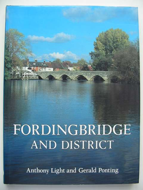 Photo of FORDINGBRIDGE AND DISTRICT A PICTORIAL HISTORY written by Light, Anthony Ponting, Gerald published by Phillimore (STOCK CODE: 630968)  for sale by Stella & Rose's Books