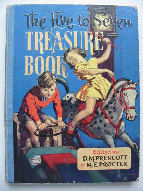 Photo of THE FIVE TO SEVEN TREASURE BOOK written by Prescott, D.M. Procter, M.E. et al,  illustrated by Evans, Treyer et al.,  published by Blandford Press (STOCK CODE: 631012)  for sale by Stella & Rose's Books