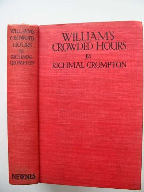Photo of WILLIAM'S CROWDED HOURS written by Crompton, Richmal illustrated by Henry, Thomas published by George Newnes Ltd. (STOCK CODE: 631090)  for sale by Stella & Rose's Books