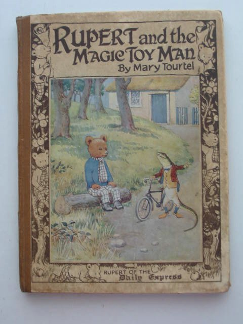 Photo of RUPERT AND THE MAGIC TOY MAN written by Tourtel, Mary illustrated by Tourtel, Mary published by Sampson Low, Marston & Co. Ltd. (STOCK CODE: 631092)  for sale by Stella & Rose's Books