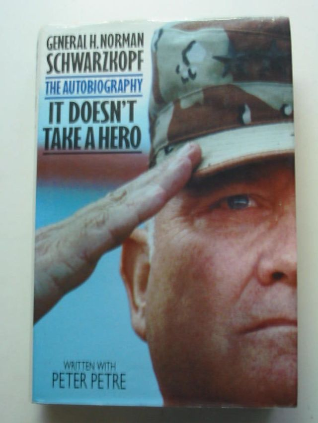 Photo of IT DOESN'T TAKE A HERO written by Schwarzkopf, H. Norman published by Bantam Press (STOCK CODE: 631579)  for sale by Stella & Rose's Books