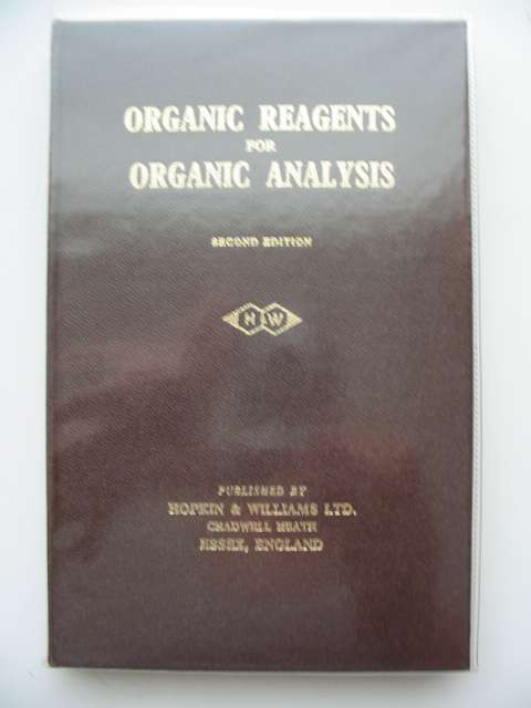 Photo of ORGANIC REAGENTS FOR ORGANIC ANALYSIS- Stock Number: 654273