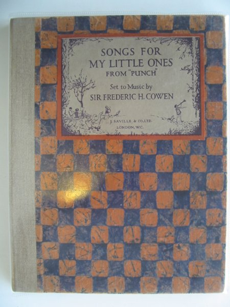 Photo of SONGS FOR MY LITTLE ONES FROM PUNCH written by Cowen, Sir Frederic illustrated by Bellotti,  published by J. Saville & Co. Ltd. (STOCK CODE: 655254)  for sale by Stella & Rose's Books